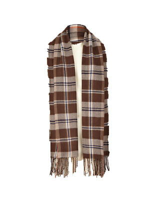 Boys Midweight Scarf In Brown