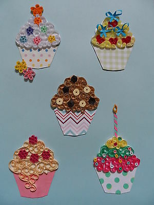 Quilling Kit - Cupcakes