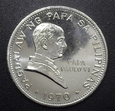 Philippines 1970 Piso  Km#202  Y#52  Gem+ Uncirculated Proof Like