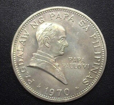 PHILIPPINES 1970 PISO  KM#202a  Y#52a  GEM+ UNCIRCULATED