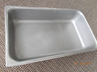 4 (One Large, 3 small) Used Stainless Steam or Buffet Warmer Table Pans
