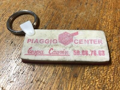 Vespa Original French Vespa Shop Key Ring Piaggio Center