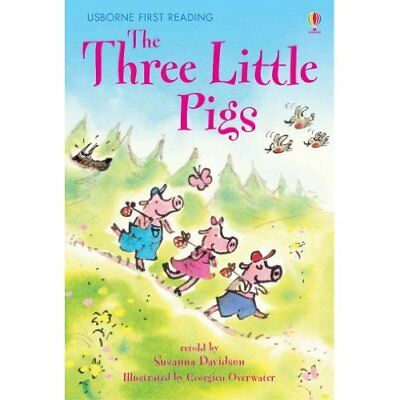 The Three Little Pigs (Usborne First Reading: Level 3) - Hardcover NEW - 2007-02