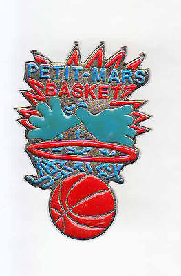 Rare Pins Pin's .. Sport Basket Ball Petit Mars Club ~A4