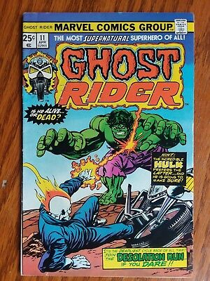 Ghost Rider #11 and 12 (1975, Marvel)