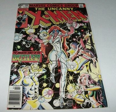 X-Men #130 VF 8.0 Key Issue 1st App. Dazzler Marvel Bronze Age Comic Uncanny