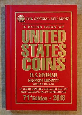 2018 Hardcover Redbook - Official Guide Book of U.S. Coins