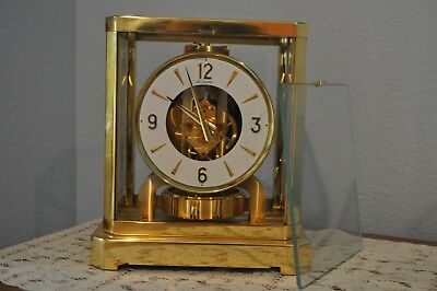 1968 Jaeger Lecoultre Atmos  Clock 528-8 In Working Condition Serial 275,581