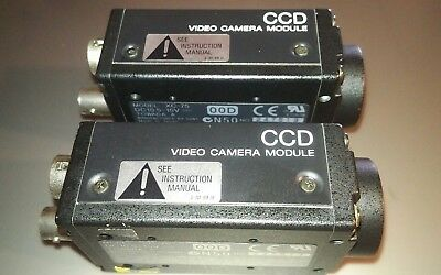 (2) SONY XC-75 CCD Video Camera Modules
