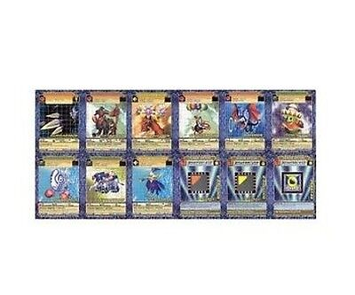 Near Mint Digimon Booster Series 5 Ccg Cards - Complete Uncommon Set 12 Card Lot