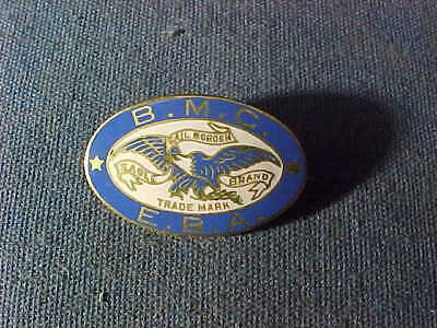 Early 20thc BORDENS EAGLE BRAND MILK Enameled PINBACK BUTTON