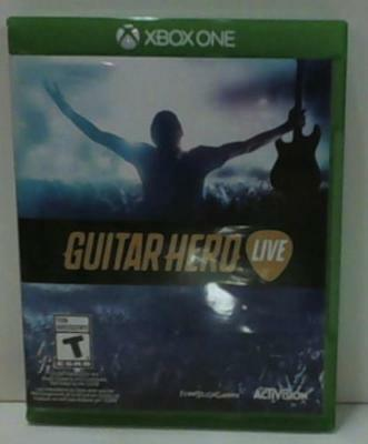 NEW OPEN BOX Guitar Hero Live- Xbox One Standard Edition $130