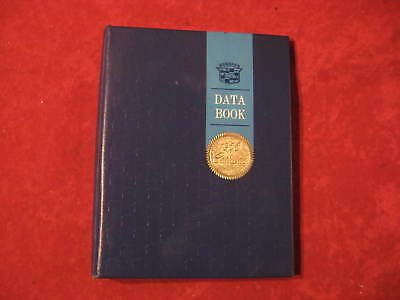 1966 Cadillac Original Dealership Salesman Data Book Booklet GM Vintage Caddy