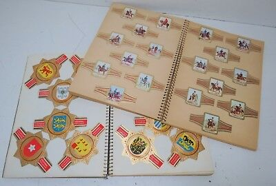 Set of 2 Albums Full of Vintage Collectible Cigar Labels Bands