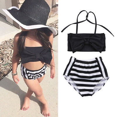Toddler Kids Baby Girl Tankini Bikini Swimwear Swimsuit Bathing Suit Beachwear