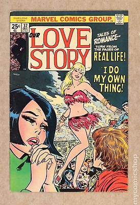 Our Love Story (1969) #37 FN 6.0