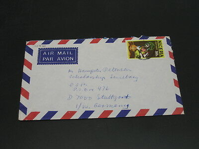 Nigeria 1986 airmail cover to Germany *22534