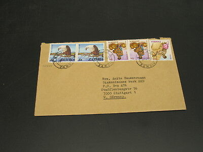 Zambia 1981 cover to Germany *22744