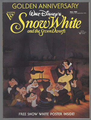 Snow White & the Seven Dwarfs Golden Anniversary VF 1987 Disney Gladstone