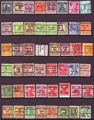 Old Usa   * Local Precancel  Group  1 Page    == 48 == Unsorted