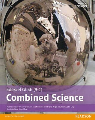 Edexcel GCSE (9-1) Combined Science Student Book by Mark Levesley 9781292120195