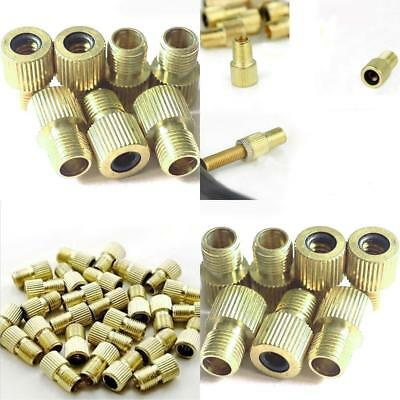 5 x VALVE ADAPTER PRESTA TO SCHRADER CONVERTER ROAD BIKE CYCLE BICYCLE PUMP TUBE