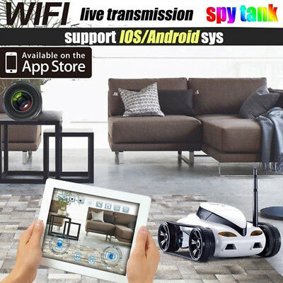 777-270 Wifi IOS Android Remote Control Mini RC Tank Toy With Camera ISPY New