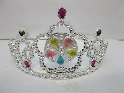 12 New Beautiful Flashing Tiaras w/Rhinestone