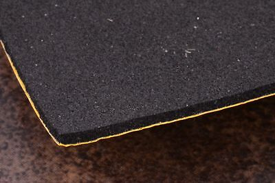 "SELF ADHESIVE NEOPRENE SPONGE FOAM RUBBER SHEET 8""x5"" 1mm 1.5mm 2mm 3mm 5 & 10mm"
