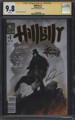 Hillbilly #1 CGC 9.8 Signature Series SS Signed by Eric Powell Goon