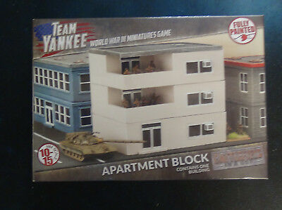 Flames of War: Battlfield in a Box Apartment Block BB228 - SEALED & NEW
