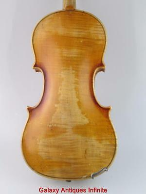 Antique  Violin Josef Guarnerius Circia 1920 Bohemia 3/4