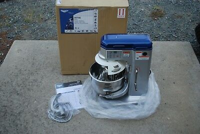 Vollrath 40756 10 Quart Dough Mixer 5 Speed W/ Guard 1/3Hp Commercial 120V New