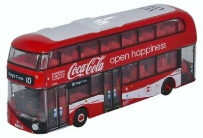 Oxford Diecast Nnr004C - N Gauge New Routemaster London United/coca Cola