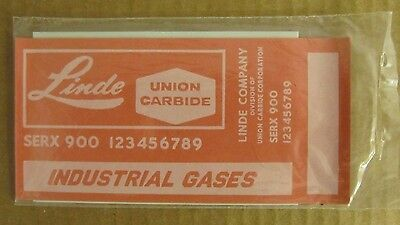 NOS Walthers O Scale Decals Linde Air Freight Car - White Lettering - #1383