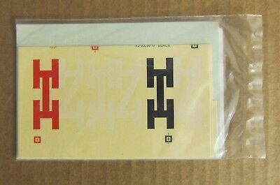 NOS RARE WALTHERS O SCALE DECAL - NYHN & H Caboose (#C-418) Steam Era  #73050