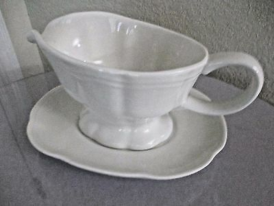 GRAVY BOWL with SEPARATE PLATE from Sheraton Casino & Hotel