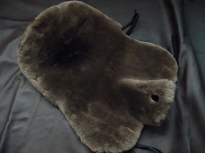 Lambskin Saddle Cover for Western Saddle + HORN, Saddle Pad, Saddle Seat Western