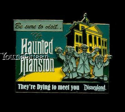 Disney Odyssey Billboard Haunted Mansion Hitchhiking Ghosts Le Pin