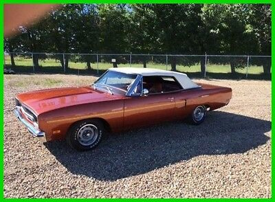 1970 Plymouth Road Runner Convertible 1970 Plymouth Road Runner Convertible Automatic Frame Off Restoration Rally Dash