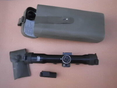 Zeiss Hensoldt  Scope ZF 4x24 Z24 included picatinny adapter with lighting unit