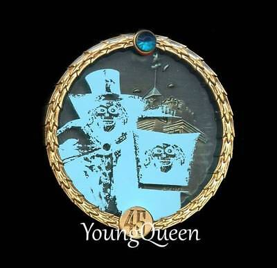 DLR Disney 45th Haunted Mansion Hitchhiking Hatbox Ghost Mystery Pin