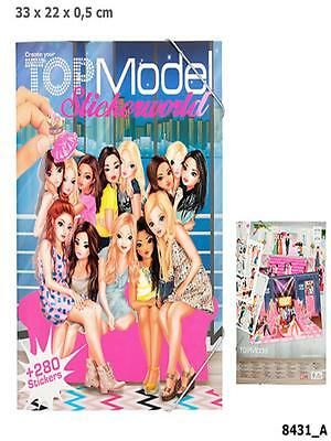 Top Model 8431_A - Sticker World, Stickerworld, Depesche, Neu