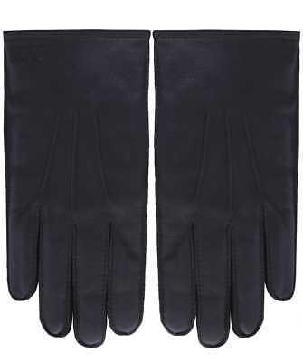 hugo boss leather gloves. Black, size 8.5UK. RRP £75