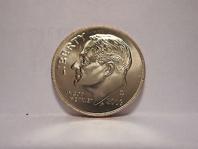 2009-D 10c Roosevelt Dime ( Brilliant Uncirculated ) From Mint Roll