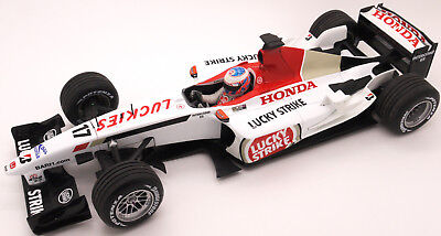 V-Rare  Minichamps Lucky Strike Bar Honda 005 J.button 2003  1/18 Scale F1