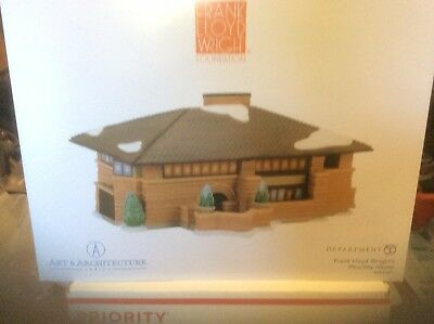 Department 56, Christmas in the City FLW Heurtley House