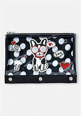 Justice Girl's Pawsitivity Pencil Case NWT