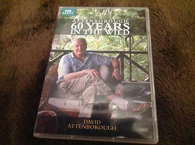 Sir David Attenborough Signed Bbc Dvd 60 Years In The Wild W Coa Ideal Gift