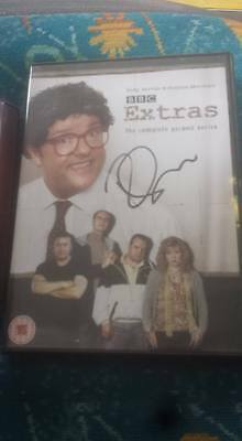 Ricky Gervais Hand Signed Dvd Extras The Complete Second Series  ( Humanity )